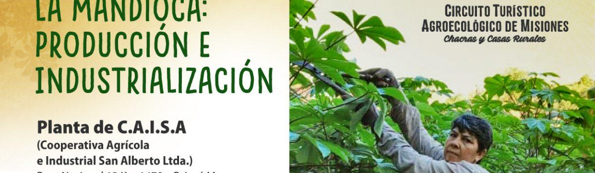 """""""Taller Integral La Mandioca: Producción e Industrialización"""" en la Planta de C.A.I.S.A."""